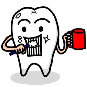歯ブラシの使い方